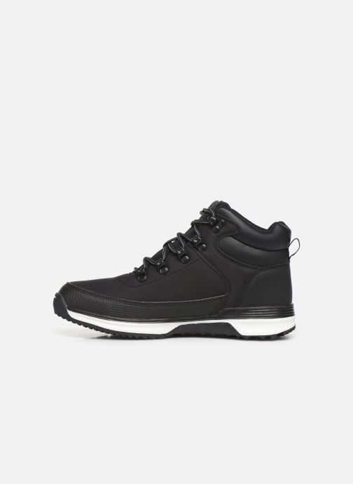 Sneakers Kappa Monsi Lacet Junior Zwart voorkant
