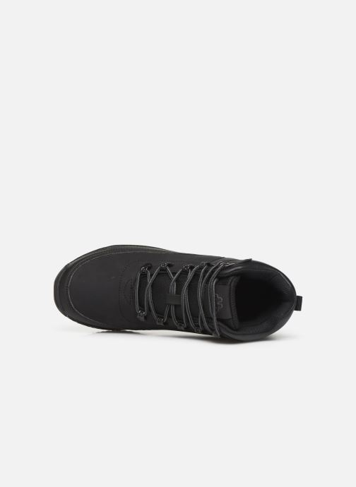 Trainers Kappa Monsi Lacet Junior Black view from the left