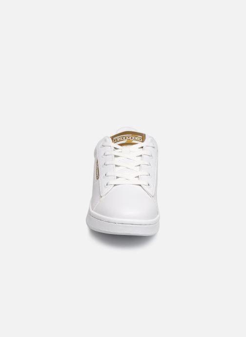 Trainers Kappa Tchouri  Lace White model view
