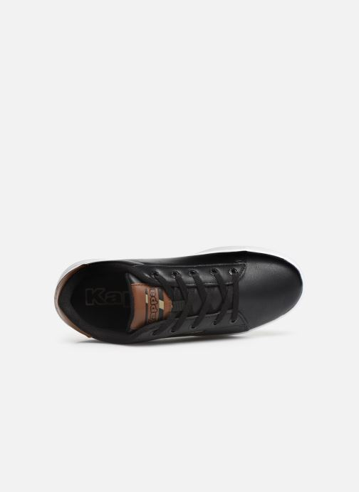 Trainers Kappa Tchouri  Lace Black view from the left
