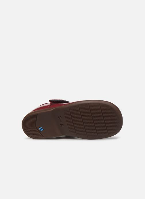Ballerines Start Rite Slide Classics Bordeaux vue haut