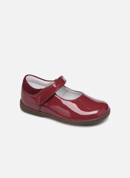 Ballerines Start Rite Slide Classics Bordeaux vue détail/paire