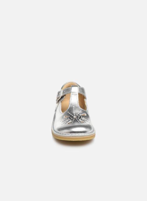 Ballerines Start Rite Lottie Classics Argent vue portées chaussures