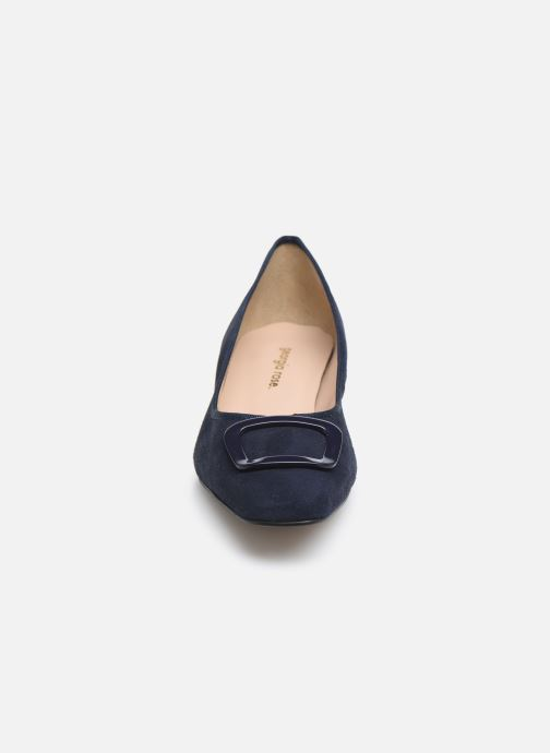 Ballerines Georgia Rose Socoran Bleu vue portées chaussures