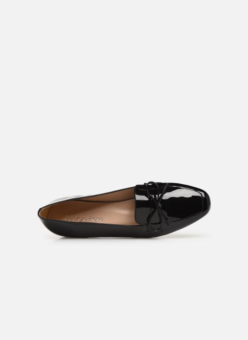 Mocasines Georgia Rose Selvita Negro vista lateral izquierda