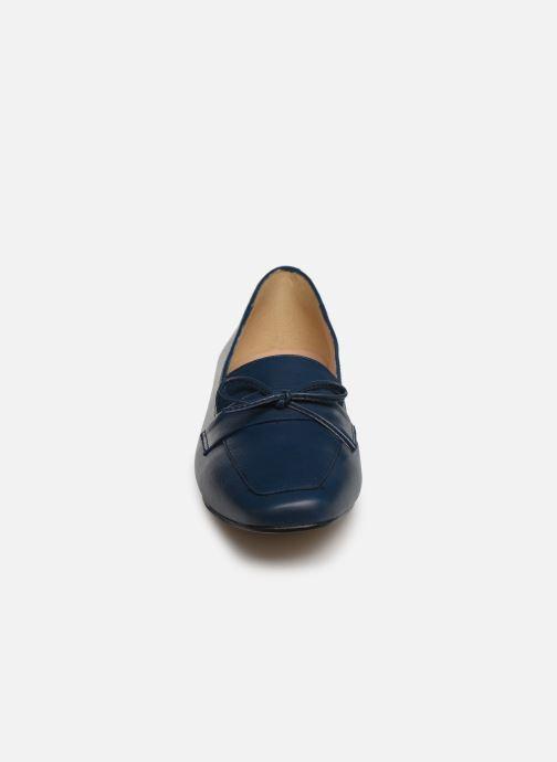 Mocassins Georgia Rose Selvita Bleu vue portées chaussures