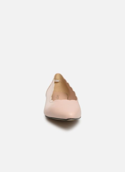 Ballerines Georgia Rose Salma Beige vue portées chaussures