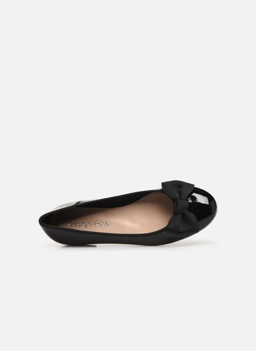 Ballet pumps Georgia Rose Sutira Black view from the left