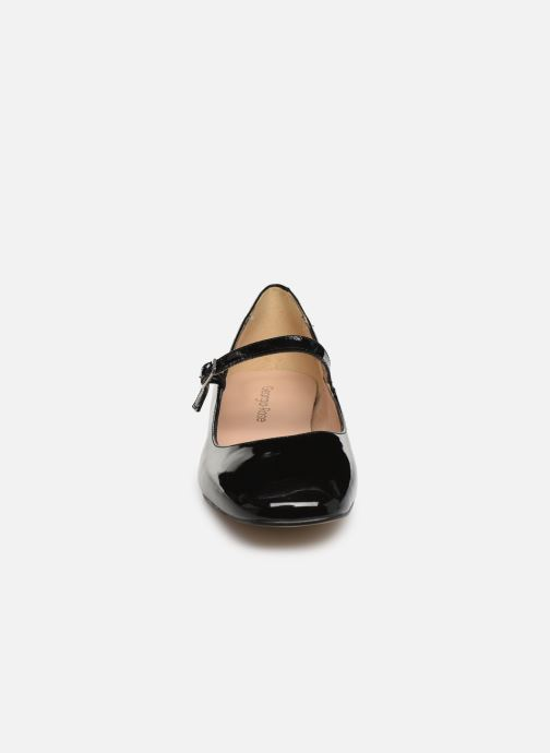Ballerines Georgia Rose Secra Noir vue portées chaussures