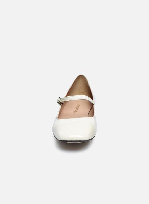 Ballerines Georgia Rose Secra Blanc vue portées chaussures