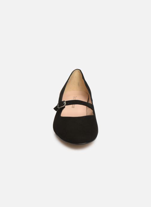 Ballerines Georgia Rose Savila Noir vue portées chaussures