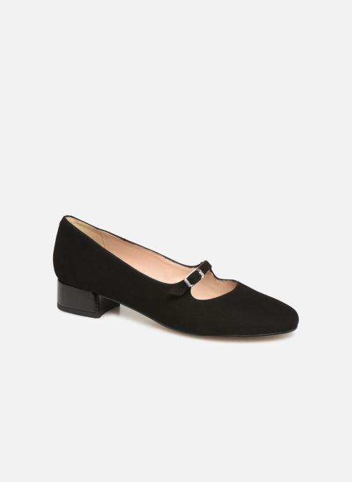 Ballerinaer Georgia Rose Savila Sort detaljeret billede af skoene