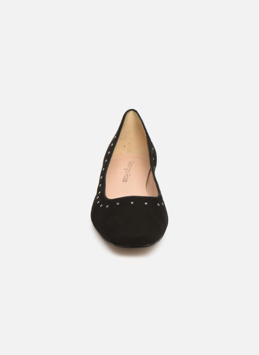 Ballerines Georgia Rose Soucloua Noir vue portées chaussures