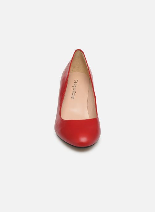 Escarpins Georgia Rose Saveria Rouge vue portées chaussures