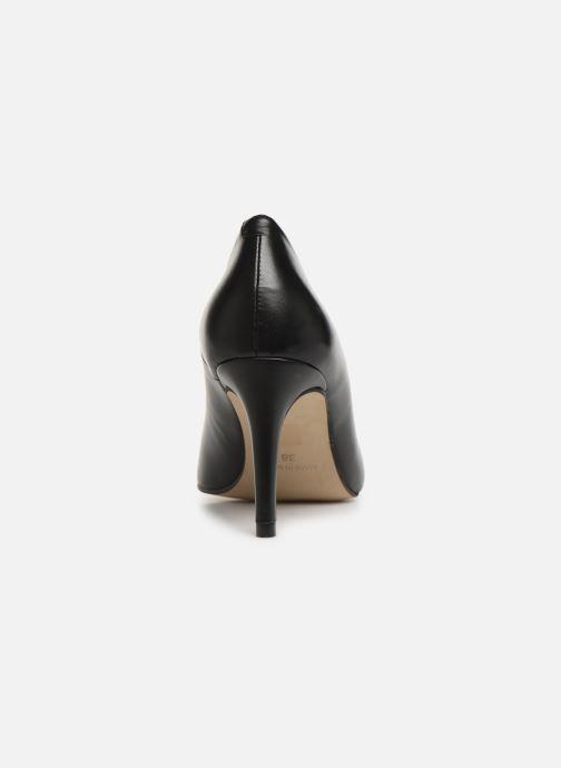 Zapatos de tacón Georgia Rose Sapic Negro vista lateral derecha