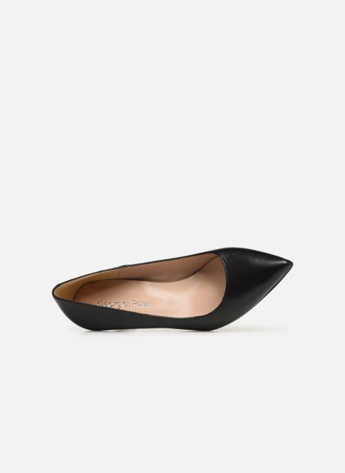 Zapatos de tacón Georgia Rose Sapic Negro vista lateral izquierda