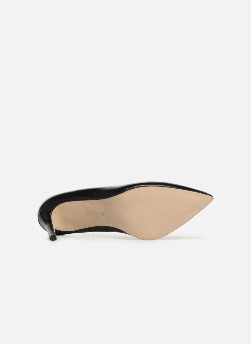 Zapatos de tacón Georgia Rose Sapic Negro vista de arriba
