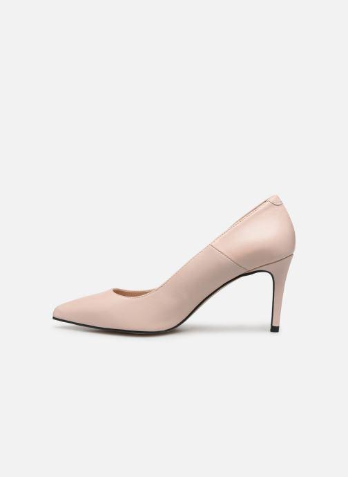 Zapatos de tacón Georgia Rose Sapic Beige vista de frente