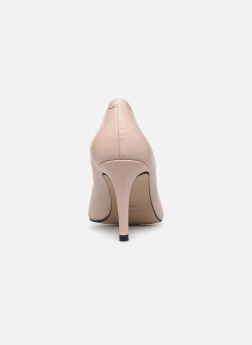 Zapatos de tacón Georgia Rose Sapic Beige vista lateral derecha