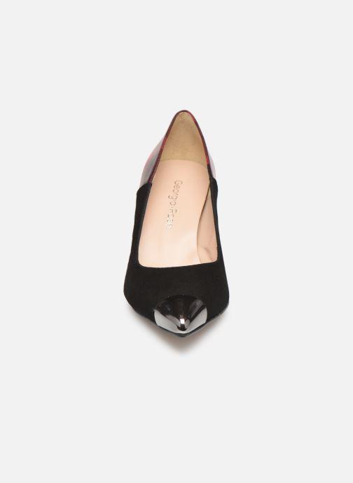 Zapatos de tacón Georgia Rose Sazulera Rojo vista del modelo