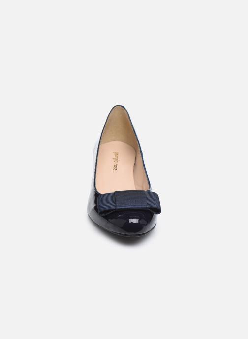 Zapatos de tacón Georgia Rose Silvia Azul vista del modelo