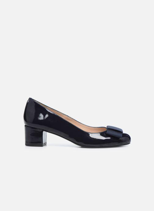 Zapatos de tacón Georgia Rose Silvia Azul vistra trasera