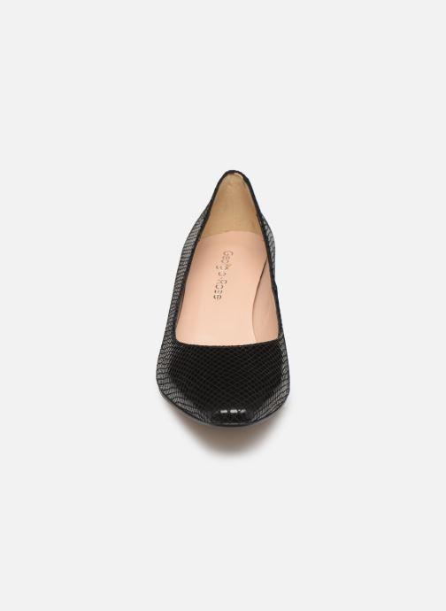 Escarpins Georgia Rose Soleria Noir vue portées chaussures