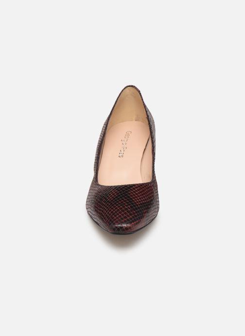 Escarpins Georgia Rose Soleria Bordeaux vue portées chaussures