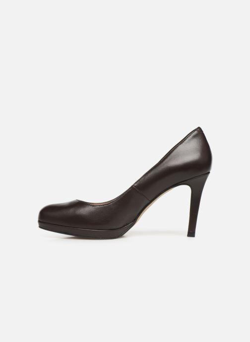 Zapatos de tacón Georgia Rose Sucina Marrón vista de frente