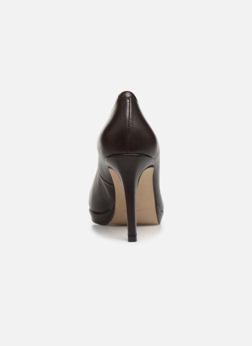 Zapatos de tacón Georgia Rose Sucina Marrón vista lateral derecha