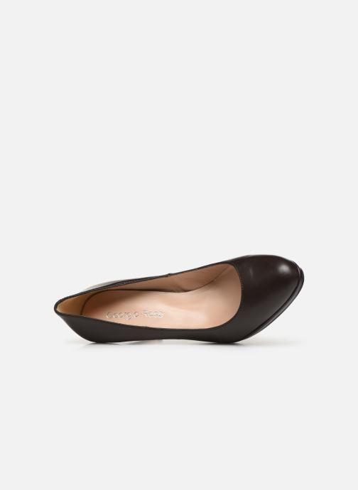 Zapatos de tacón Georgia Rose Sucina Marrón vista lateral izquierda
