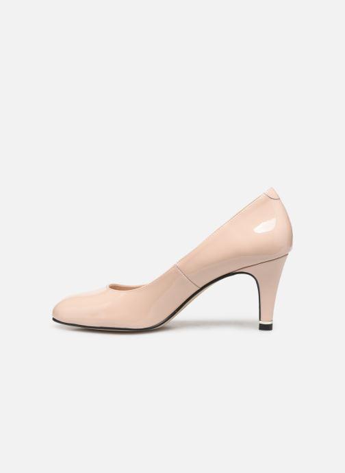 Zapatos de tacón Georgia Rose Suemy Beige vista de frente
