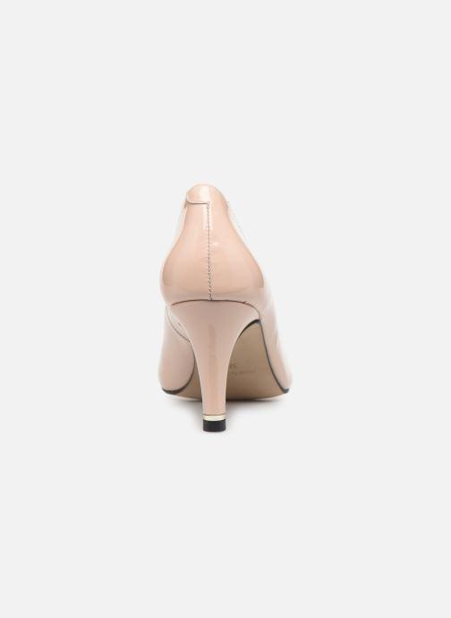 Zapatos de tacón Georgia Rose Suemy Beige vista lateral derecha