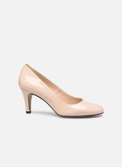 Zapatos de tacón Georgia Rose Suemy Beige vistra trasera