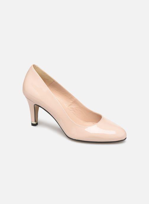 Zapatos de tacón Georgia Rose Suemy Beige vista de detalle / par