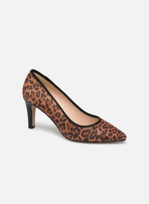 Zapatos de tacón Georgia Rose Salita Marrón vista de detalle / par