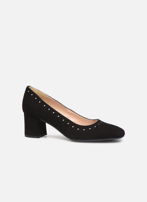 Zapatos de tacón Georgia Rose Seni Negro vistra trasera