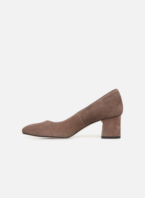 Zapatos de tacón Georgia Rose Seni Marrón vista de frente