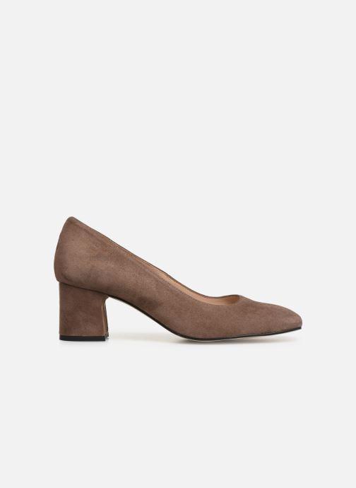 Zapatos de tacón Georgia Rose Seni Marrón vistra trasera