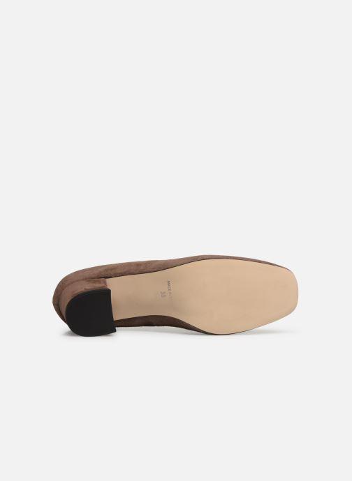 Zapatos de tacón Georgia Rose Seni Marrón vista de arriba