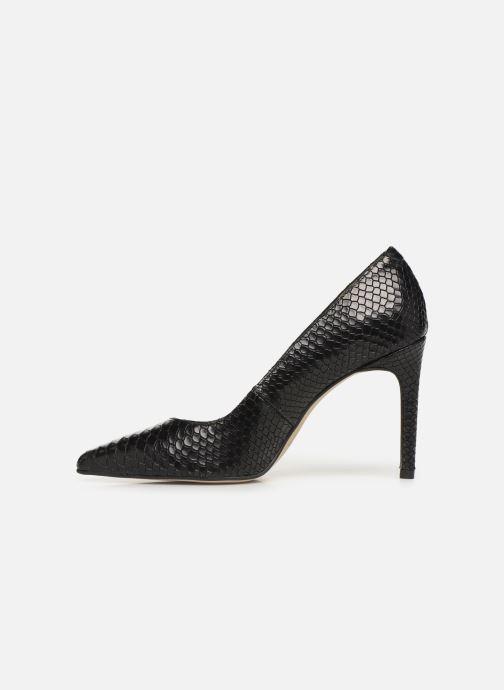 Zapatos de tacón Georgia Rose Snakal Negro vista de frente