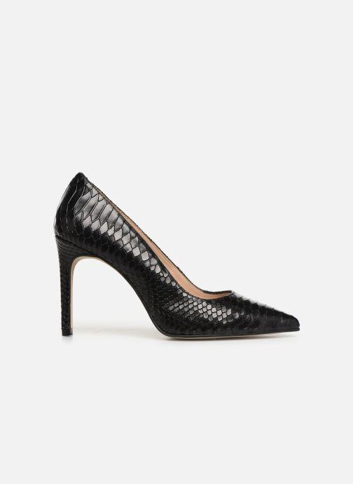 Zapatos de tacón Georgia Rose Snakal Negro vistra trasera