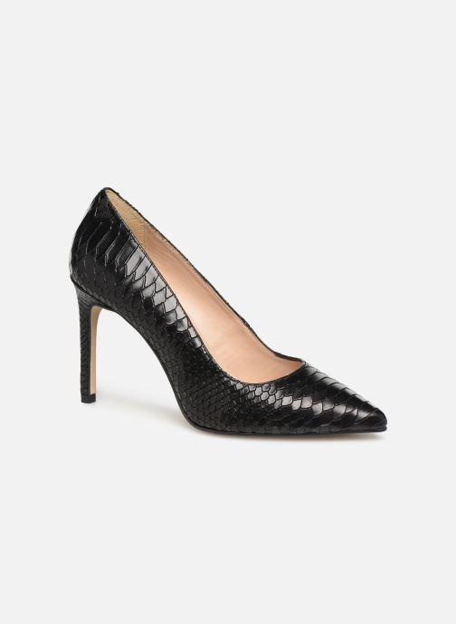 Zapatos de tacón Georgia Rose Snakal Negro vista de detalle / par