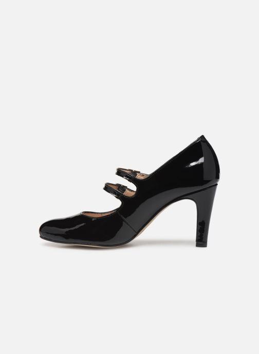 Zapatos de tacón Georgia Rose Sarola Negro vista de frente