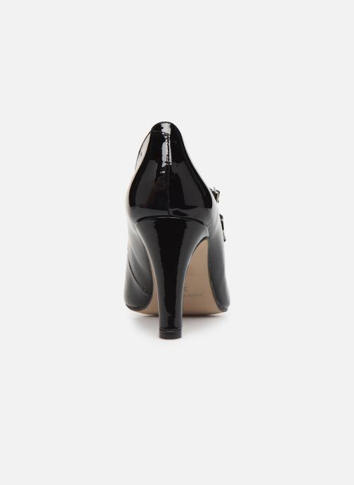 Zapatos de tacón Georgia Rose Sarola Negro vista lateral derecha