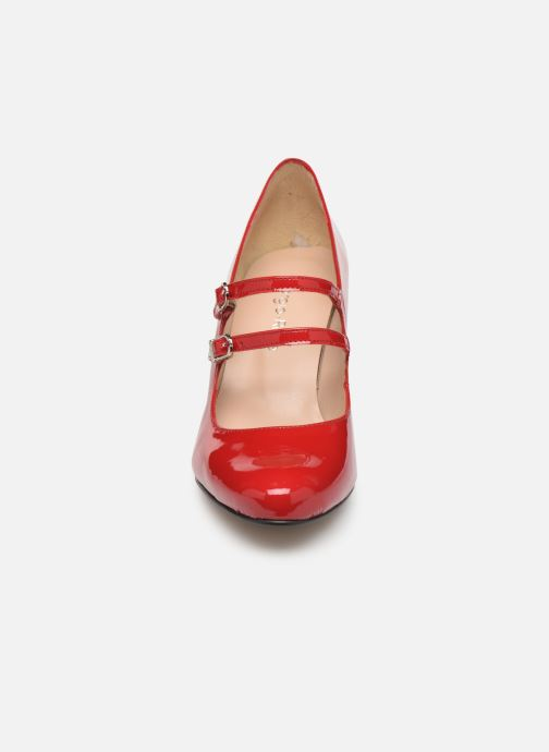 Zapatos de tacón Georgia Rose Sarola Rojo vista del modelo