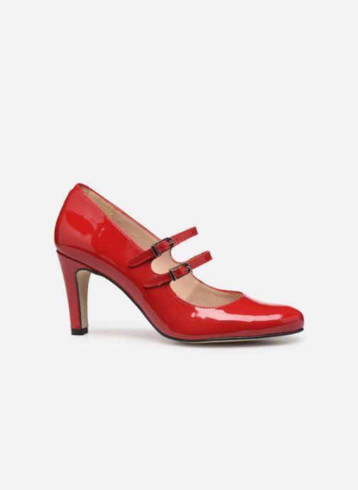 Zapatos de tacón Georgia Rose Sarola Rojo vistra trasera