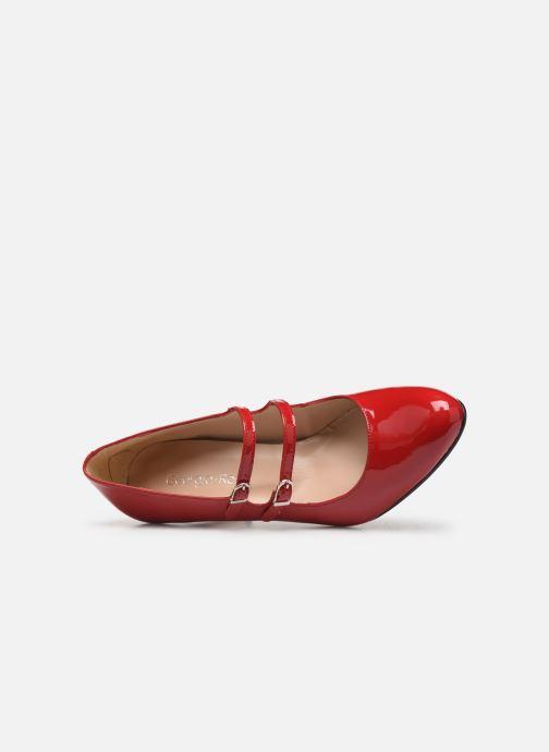 Zapatos de tacón Georgia Rose Sarola Rojo vista lateral izquierda