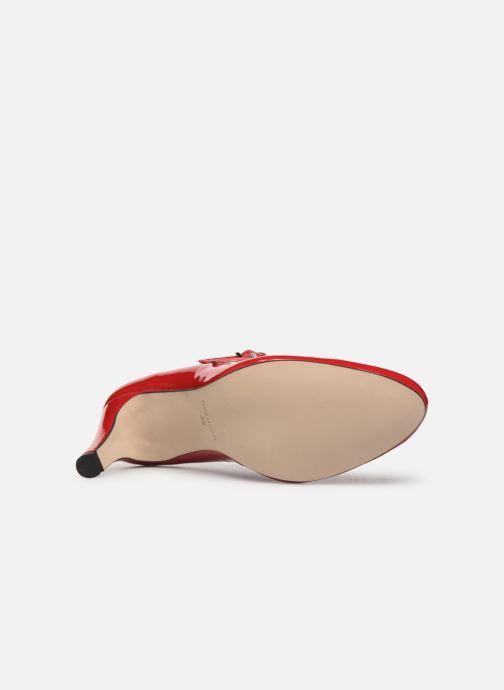 Zapatos de tacón Georgia Rose Sarola Rojo vista de arriba