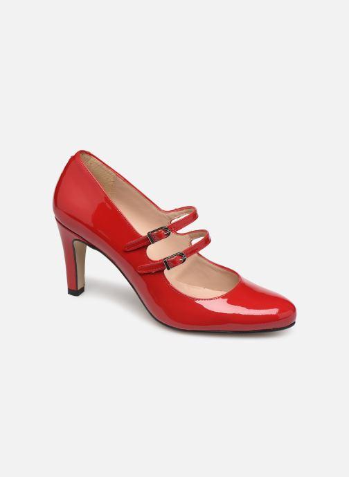 Zapatos de tacón Georgia Rose Sarola Rojo vista de detalle / par